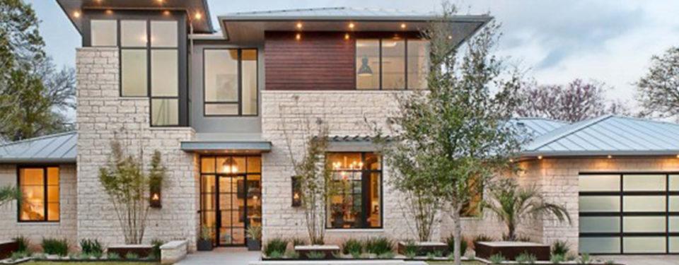 Autin stone placqued villa